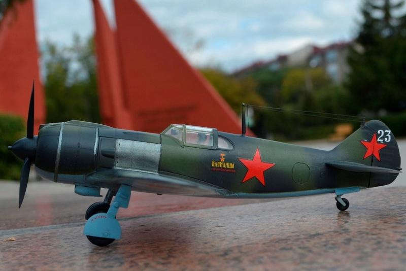 Ла-5. 1/48. Звезда. Mrde4s10