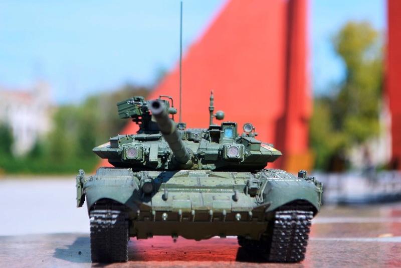 Т-90. 1/35. Звезда. Rwar3g10