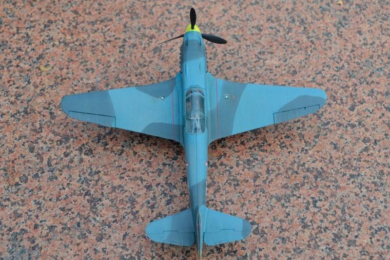 Як-3 14 ГвИАП ВВС Балтфлота. 1/48. Звезда Tds3nf10