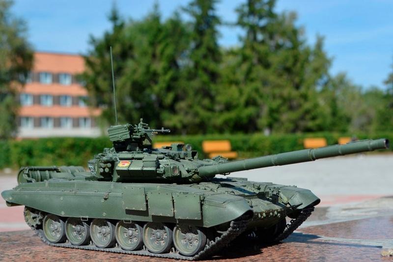 Т-90. 1/35. Звезда. Uau78810