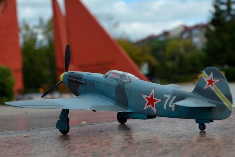 Як-3 14 ГвИАП ВВС Балтфлота. 1/48. Звезда Xbrpeh10