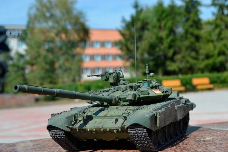 Т-90. 1/35. Звезда. Zvx6o810