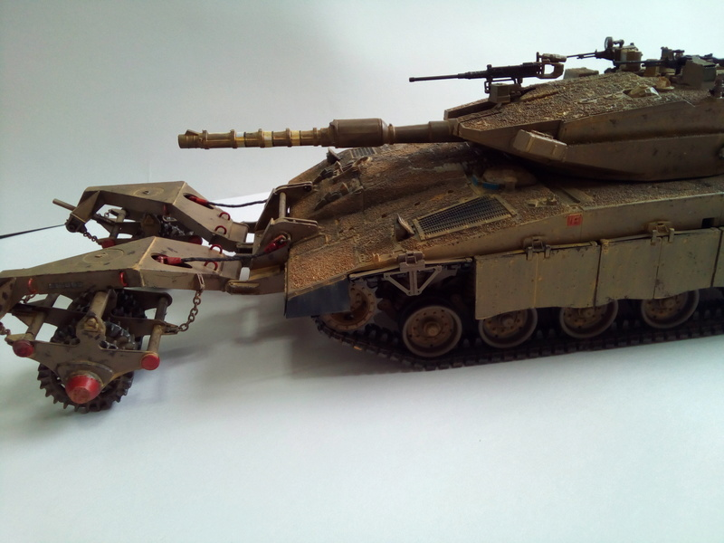 Merkava Mk.3 BAZ Nochri Dalet mine roller Img_2051