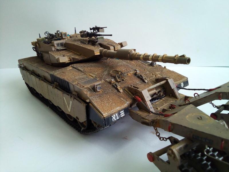 Merkava Mk.3 BAZ Nochri Dalet mine roller Img_2057