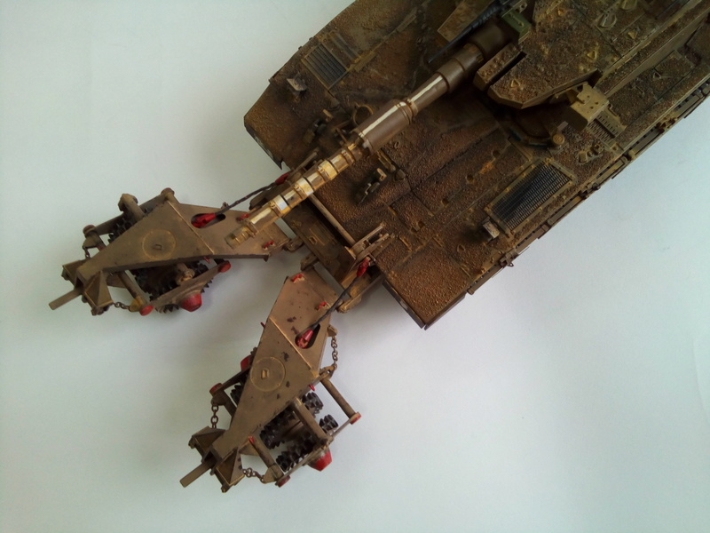 Merkava Mk.3 BAZ Nochri Dalet mine roller Img_2060