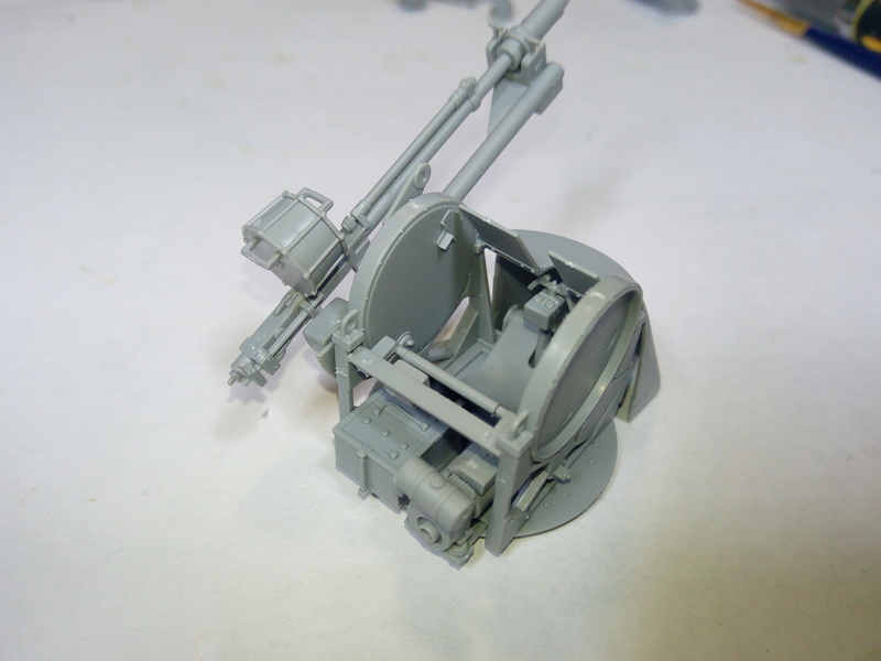 M3 Halftrack w\TCM-20 anti-aircraft gun. Dragon. 1\35 Img_2304
