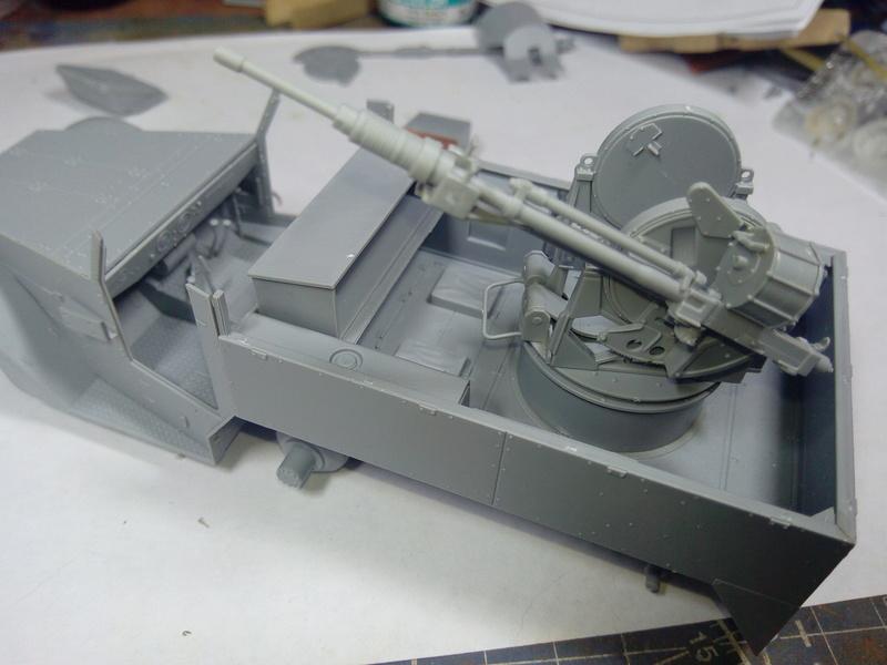 M3 Halftrack w\TCM-20 anti-aircraft gun. Dragon. 1\35 Img_2310