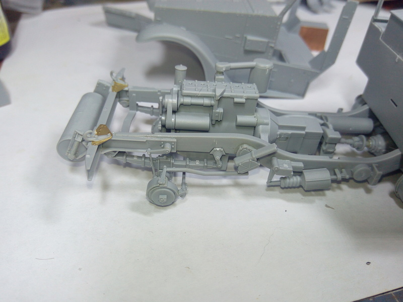 M3 Halftrack w\TCM-20 anti-aircraft gun. Dragon. 1\35 Img_2311