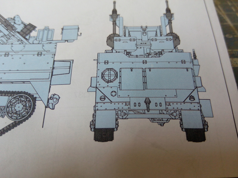 M3 Halftrack w\TCM-20 anti-aircraft gun. Dragon. 1\35 Img_2316