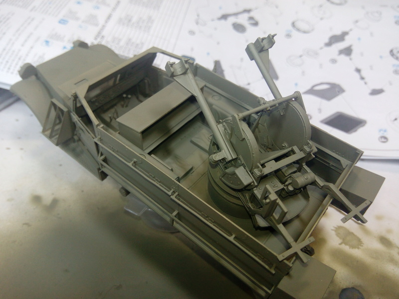 M3 Halftrack w\TCM-20 anti-aircraft gun. Dragon. 1\35 Img_2322