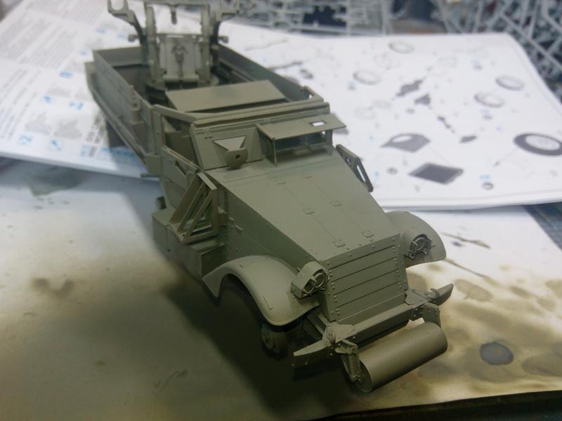 M3 Halftrack w\TCM-20 anti-aircraft gun. Dragon. 1\35 Img_2323