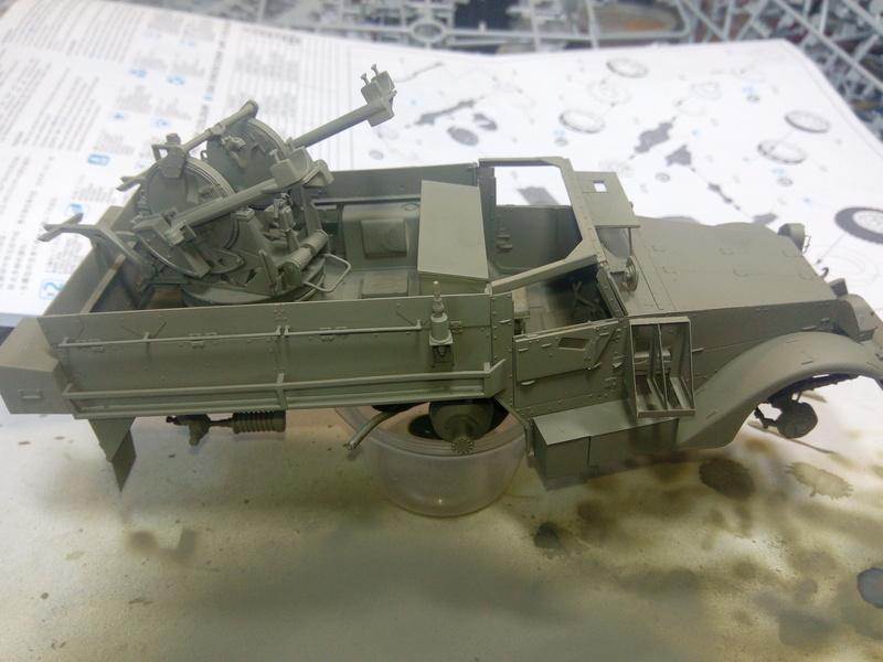 M3 Halftrack w\TCM-20 anti-aircraft gun. Dragon. 1\35 Img_2324