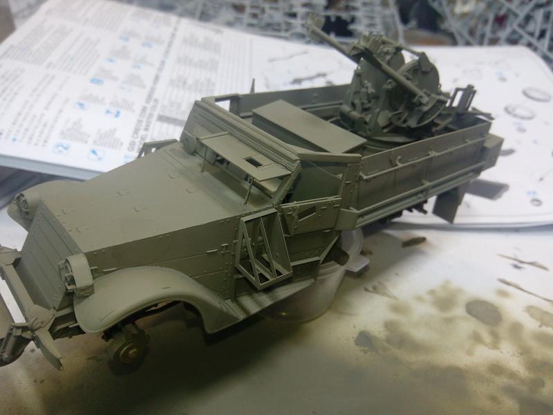 M3 Halftrack w\TCM-20 anti-aircraft gun. Dragon. 1\35 Img_2325