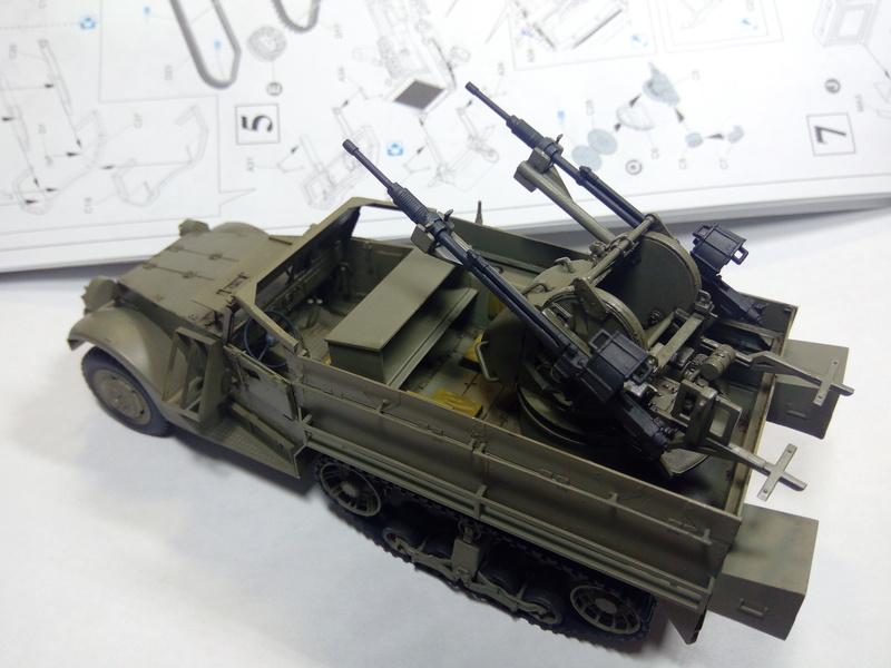 M3 Halftrack w\TCM-20 anti-aircraft gun. Dragon. 1\35 Img_2326