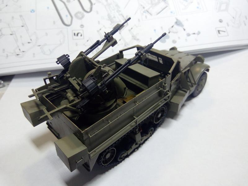 M3 Halftrack w\TCM-20 anti-aircraft gun. Dragon. 1\35 Img_2328