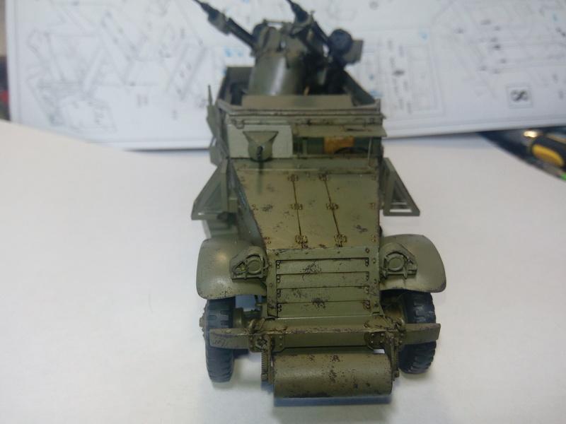 M3 Halftrack w\TCM-20 anti-aircraft gun. Dragon. 1\35 Img_2330