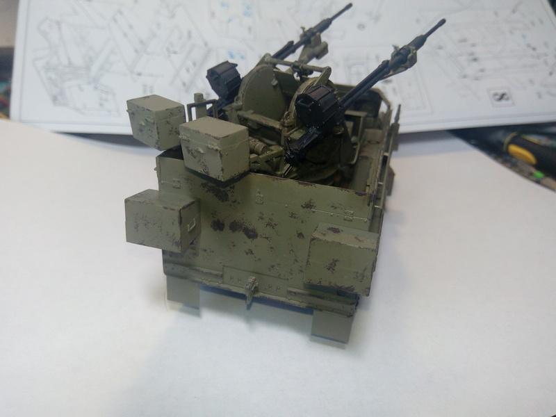 M3 Halftrack w\TCM-20 anti-aircraft gun. Dragon. 1\35 Img_2331
