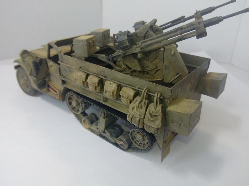 M3 Halftrack w\TCM-20 anti-aircraft gun. Dragon. 1\35 Img_2333
