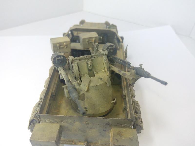 M3 Halftrack w\TCM-20 anti-aircraft gun. Dragon. 1\35 Img_2334