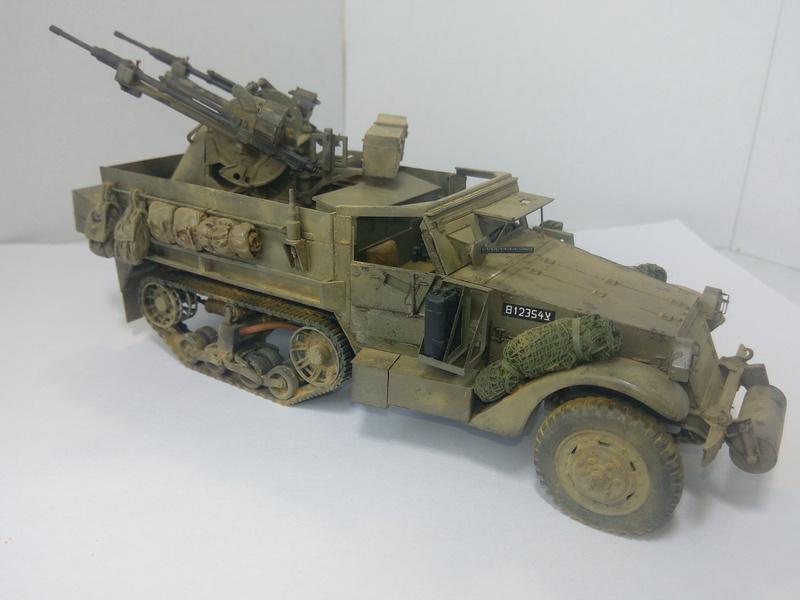 M3 Halftrack w\TCM-20 anti-aircraft gun. Dragon. 1\35 Img_2335