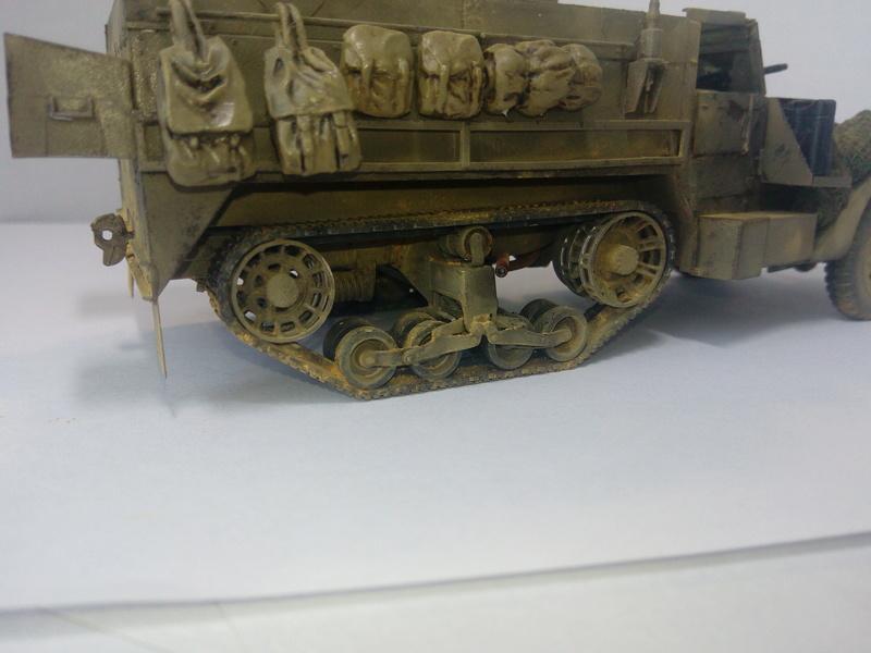 M3 Halftrack w\TCM-20 anti-aircraft gun. Dragon. 1\35 Img_2336