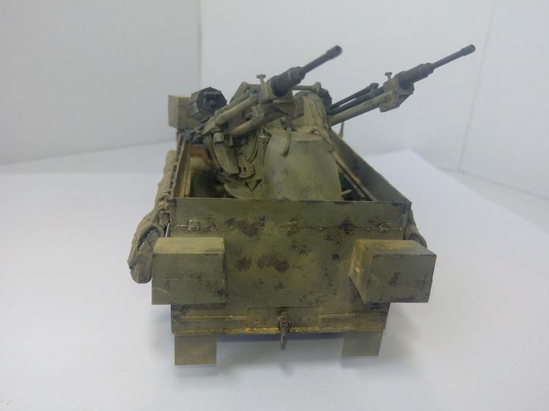 M3 Halftrack w\TCM-20 anti-aircraft gun. Dragon. 1\35 Img_2337