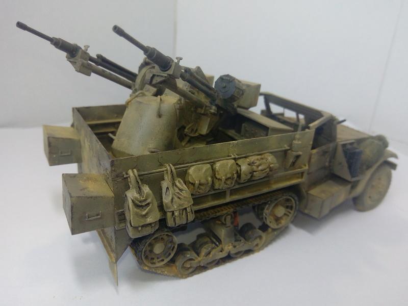 M3 Halftrack w\TCM-20 anti-aircraft gun. Dragon. 1\35 Img_2338