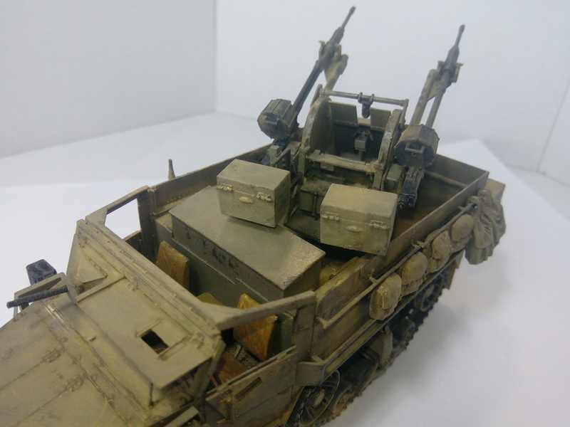 M3 Halftrack w\TCM-20 anti-aircraft gun. Dragon. 1\35 Img_2339
