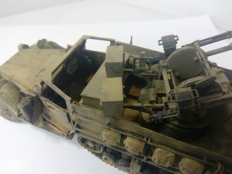 M3 Halftrack w\TCM-20 anti-aircraft gun. Dragon. 1\35 Img_2340