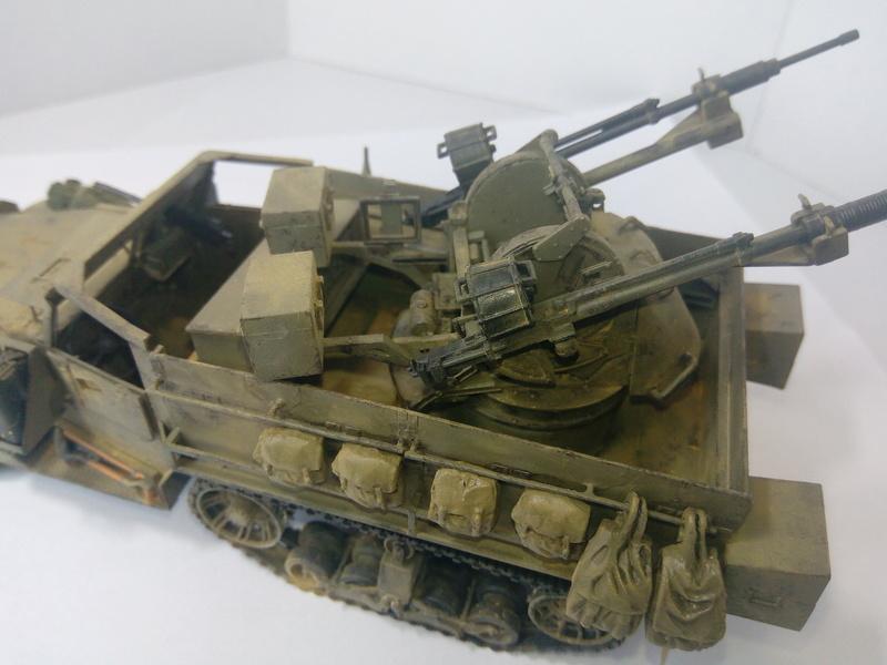 M3 Halftrack w\TCM-20 anti-aircraft gun. Dragon. 1\35 Img_2342