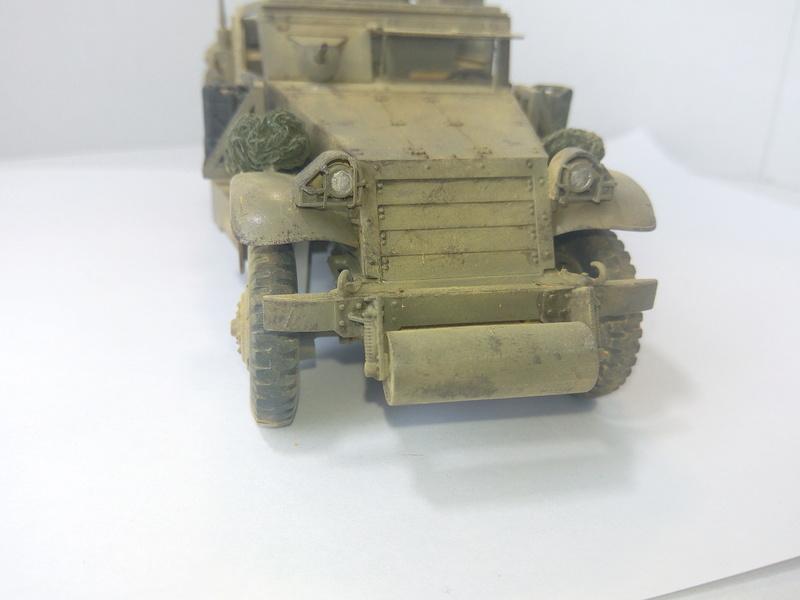 M3 Halftrack w\TCM-20 anti-aircraft gun. Dragon. 1\35 Img_2343