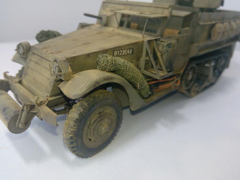 M3 Halftrack w\TCM-20 anti-aircraft gun. Dragon. 1\35 Img_2344