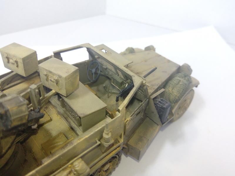 M3 Halftrack w\TCM-20 anti-aircraft gun. Dragon. 1\35 Img_2345
