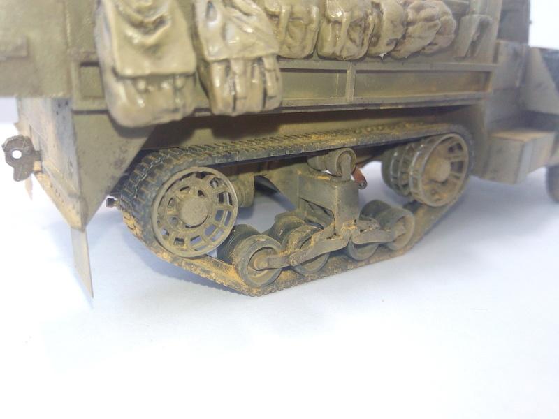 M3 Halftrack w\TCM-20 anti-aircraft gun. Dragon. 1\35 Img_2346