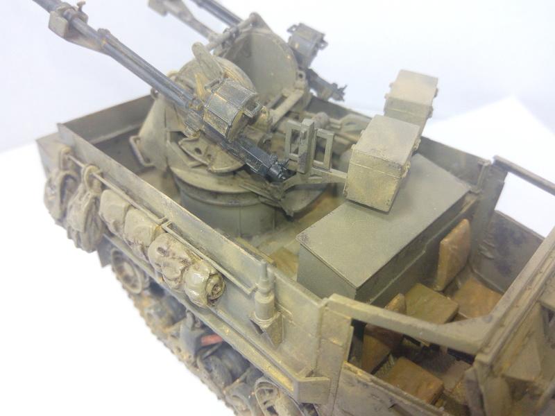 M3 Halftrack w\TCM-20 anti-aircraft gun. Dragon. 1\35 Img_2347