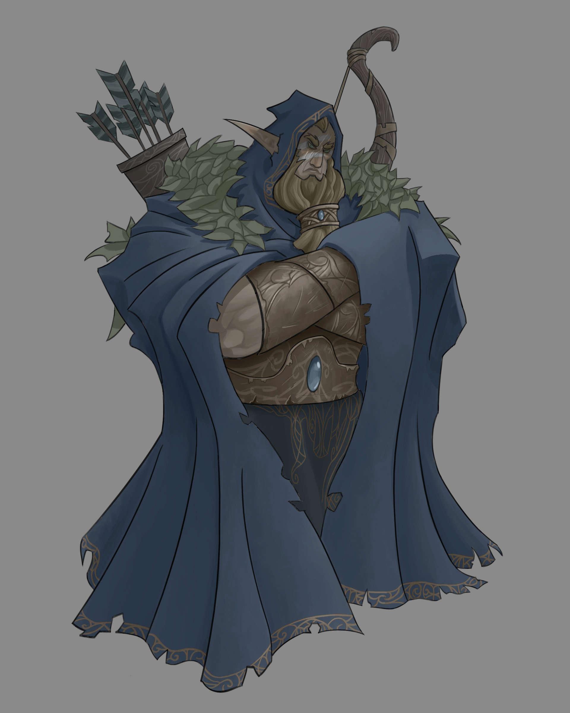 Character design projet bd Belfar10