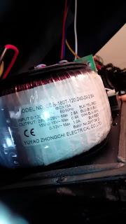 Gemini es12p casse amplificate Trasfo10