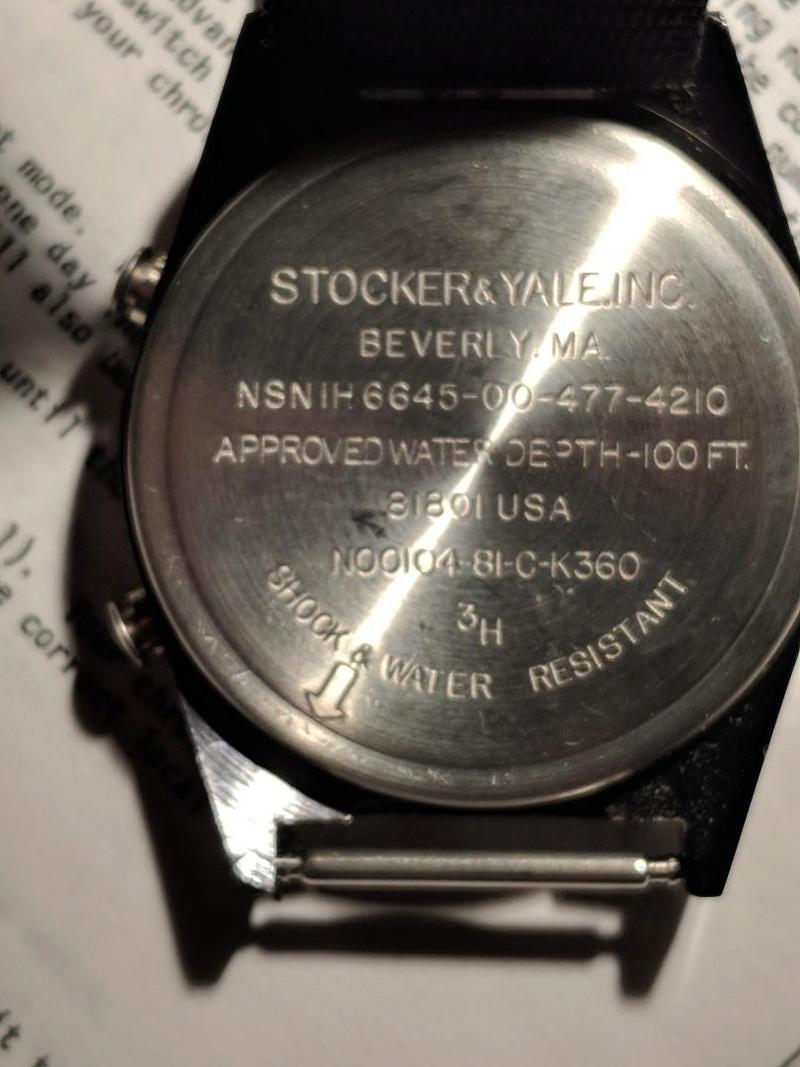 "USAF ""Autoranging Chronograph"" Autora11"
