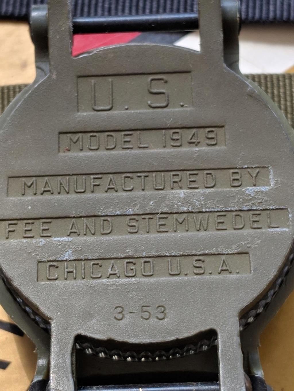 Montres en plastique américaines de l'ère de la guerre du Vietnam. Compas12