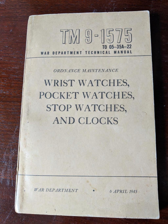Manuel de réparation des montres de l'armée américaine de la seconde guerre mond Tm9_1510