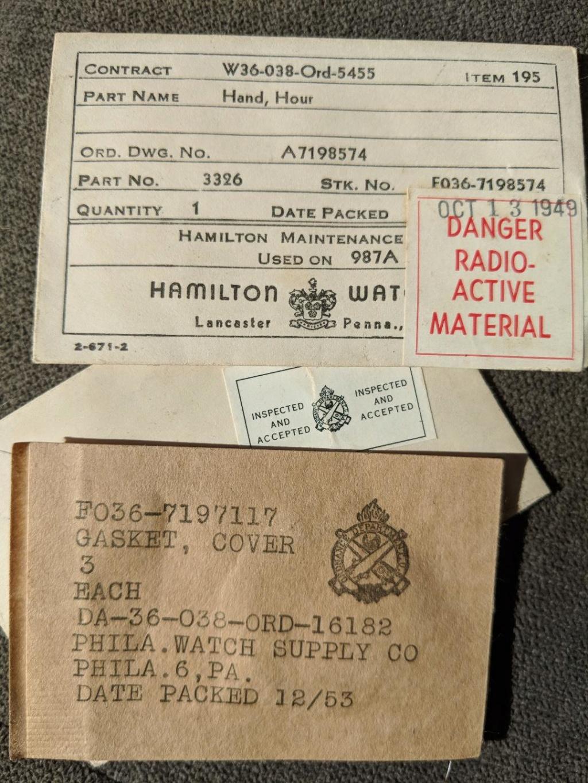 Quand 1917 renvoie à la seconde guerre mondiale-Les militaires Hamilton & Elgin  Watch_13