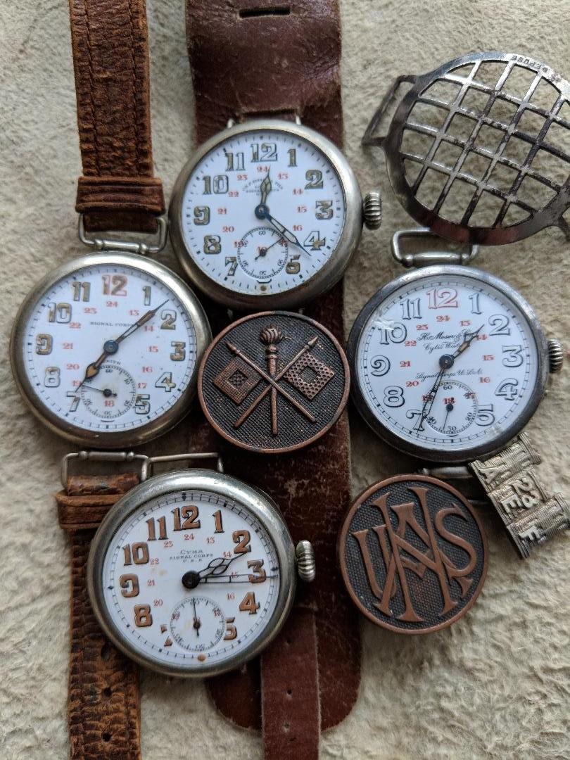 11 novembre 1918. Montres et horloges Wwi_e10