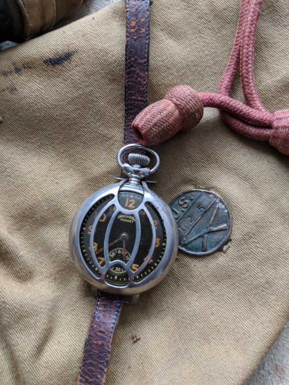 11 novembre 1918. Montres et horloges Wwi_k10