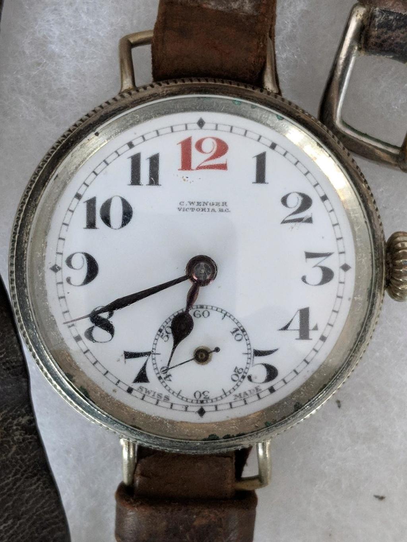 11 novembre 1918. Montres et horloges Wwi_o10