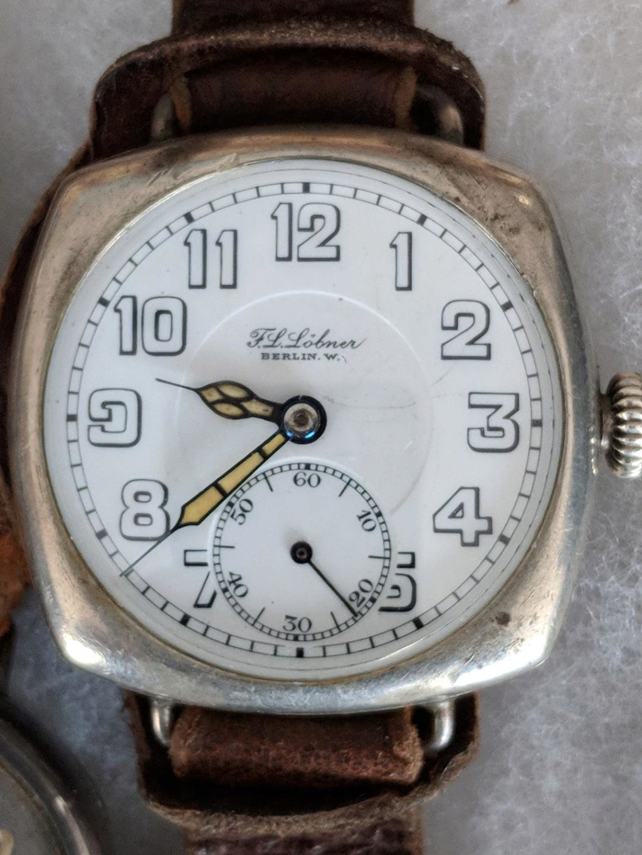 11 novembre 1918. Montres et horloges Wwi_u10