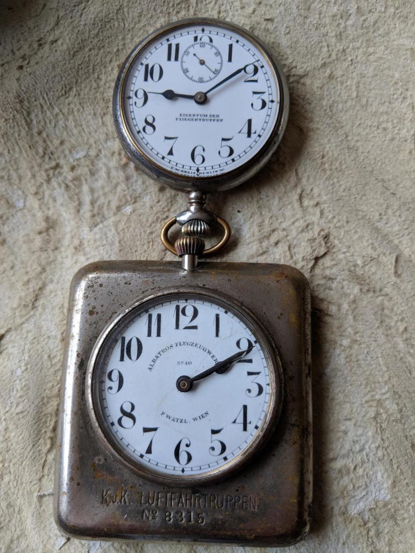 11 novembre 1918. Montres et horloges Wwi_y10