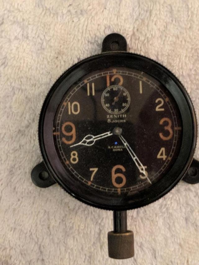 Horloges d'avions italiennes de la seconde guerre mondiale Zenith16