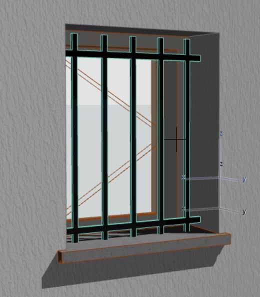 [ ARCHICAD ] Grille de défense pour fenêtre Image_18