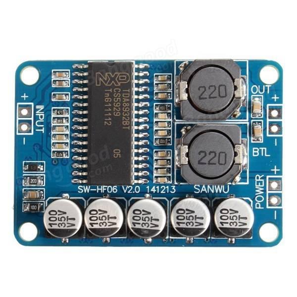 Consiglio costruzione amplificatore con schedina 25107b10