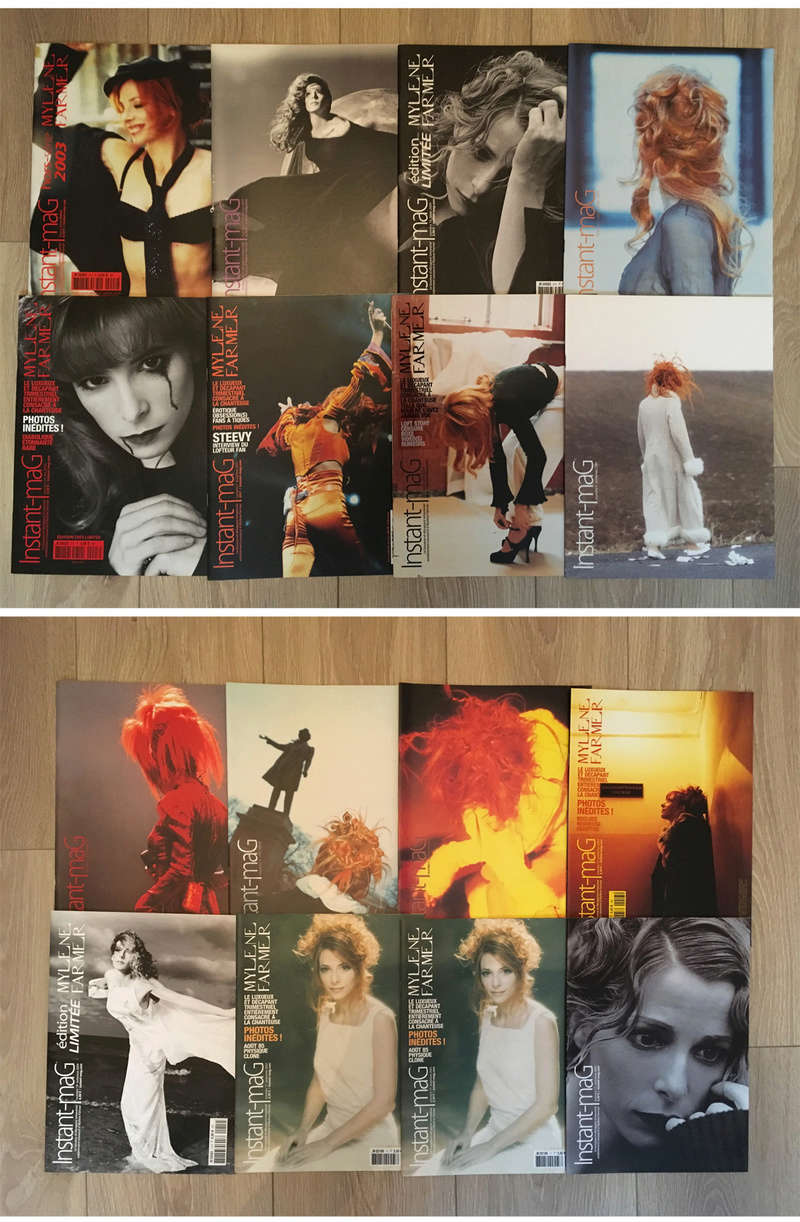 [VENDS] COLLECTION MYLENE FARMER - magazines, livres, calendriers, posters… 0410